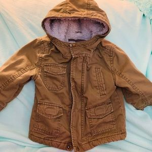 Olive Green Lined Parka by Cherokee Size 12M